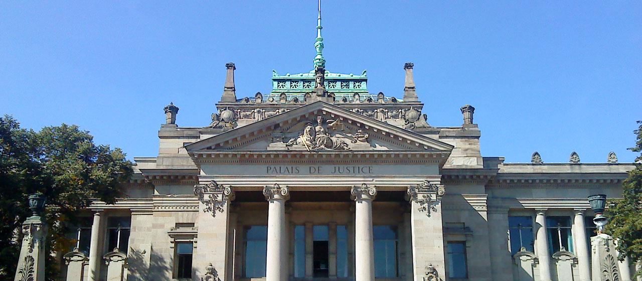 Palais de justice Strasbourg - Judicia Conseils