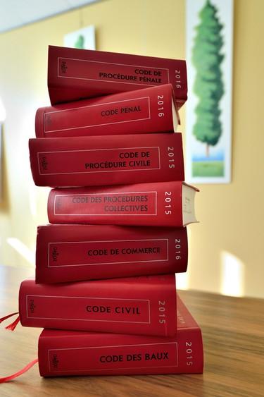 Law books - Judicia Conseils
